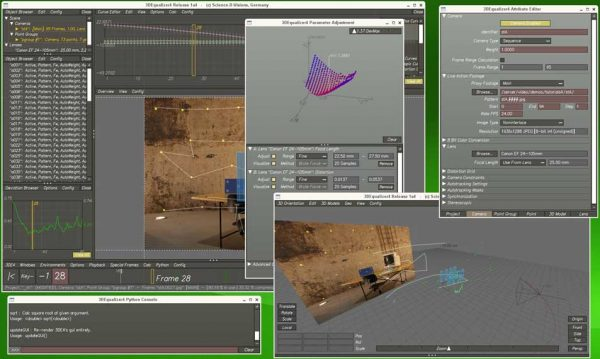 3DEqualizer  The world's most powerful 3D tracking software