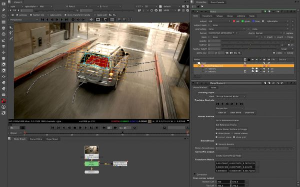Foundry Nuke Software, available from Intraware Australia